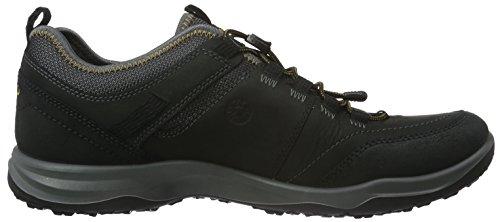 Ecco Espinho, Chaussures Multisport Outdoor Homme Noir (51052Black/Black)