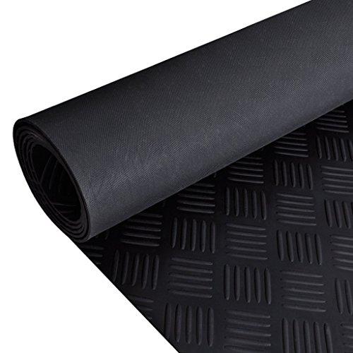 Preisvergleich Produktbild vidaXL Bodenschutzmatte Bodenmatte Gummimatte Fallschutzmatte Bautenschutz Fußmatte 2x1