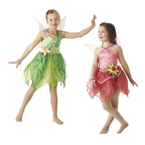 Disney-Prinzessinnen Kostüm Tinkerbell und Rosetta in Box, S (Rubie 's Spain (Mädchen Tinkerbell Prinzessin Kostüm)