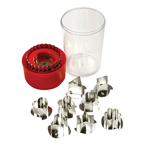 Norpro Linzer Cookie Cutter mit Speicher Fall Norpro Cookie
