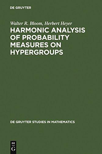 Harmonic Analysis of Probability Measures on Hypergroups (De Gruyter Studies in Mathematics Book 20) (English Edition)