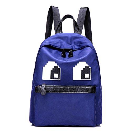 Young & Ming - Große Unisex Damen wasserdicht Nylon Rucksack Backpack süße Dekoration für Arbeit / Freizeit / Schule