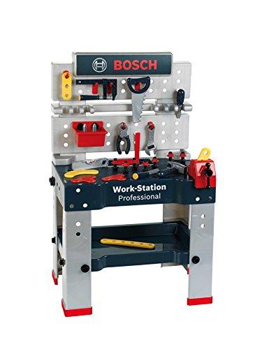 Theo Klein 8290 - Bosch Workstation, profiline blau, Spielzeug