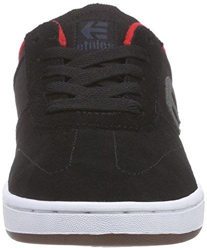 Etnies Kids Lo Cut, Chaussures de Skateboard Mixte Enfant Noir (Black 001)