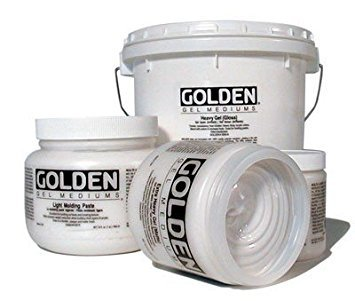 Golden : Light Molding Paste : 3.78Litre : By Road Parcel Only - Light Molding Paste