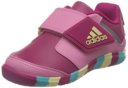 adidas Fortaplay Ac i, Scarpe da Ginnastica Unisex-Bambini Rosa (Rosfue/Rossen/Amasen)
