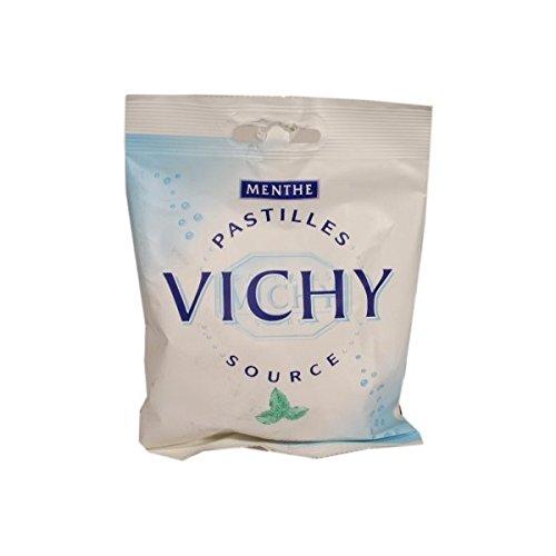 Preisvergleich Produktbild Pastille VICHY Menthe,  Bonbons mit Mineralien der Vichy Quellen,  französische Pfefferminzbonbons,  230g