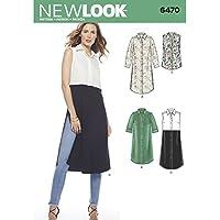 Simplicity nl6470 New Look – Cartamodello per Tunica Carta ... 65f7fbb02630