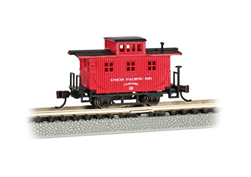 Spur N - Old-Time Wood Caboose Union Pacific (Güterwagen Caboose)