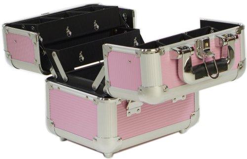 Beauty Box - Malette Maquillage et Cosmétique Valene - Rose