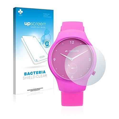upscreen Bacteria Shield Clear Bildschirmschutz Schutzfolie für Runtastic Moment Fun (antibakterieller Schutz, hochtransparent)