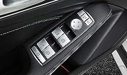 ABS Plastic Window Lift Switch Button Cover Trim Car Accessoires Silver for A B C E GLE GLA CLA GLK ML W212 W204
