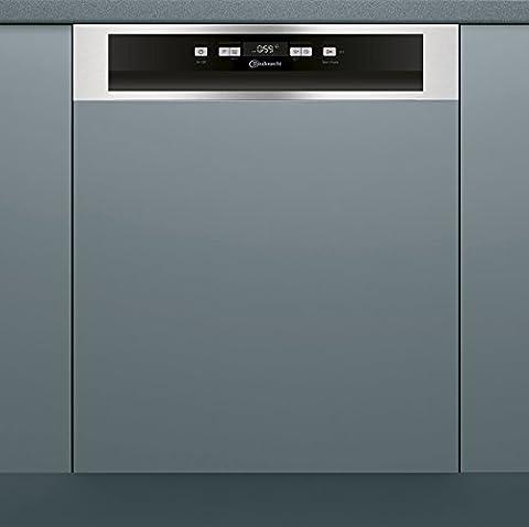Bauknecht BBC 3C32 X Geschirrspüler teilintegrierbar, A+++, 60 cm, 265 kWh/Jahr, 14 MGD, 2520 L/Jahr, Extra Trocknen, Option
