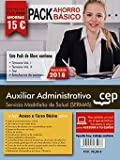 PACK AHORRO BÁSICO. Auxiliar Administrativo. Servicio Madrileño de Salud (SERMAS).  (Incluye Temarios I, II, Test, Simulacros)