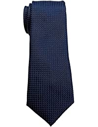 Blacksmith Men's Polyester Woven Tie (Blue)