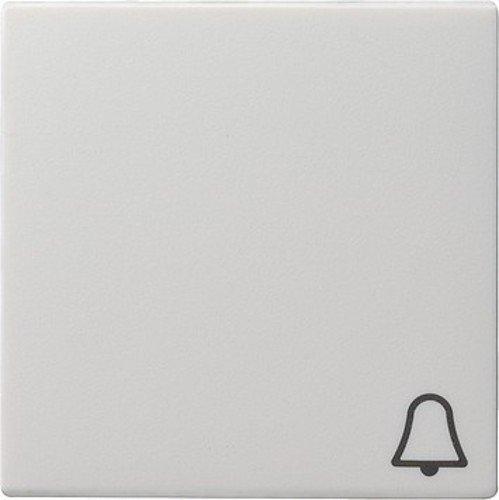 Gira Wippe 028627 Symbol Klingel System 55 rw matt, Weiß, (