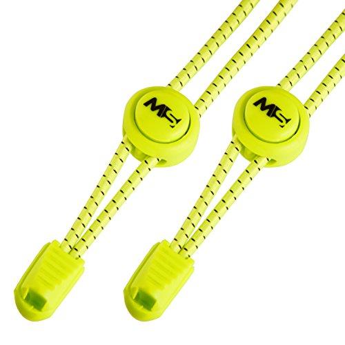 MASTER LACES – Elastische Schnürsenkel mit Schnellverschluss 120cm– optimal für Sport, Kinder,...