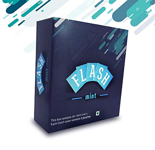 FLASHMINT -60 Instant Mouth Freshener Mint Strips- Sugar Free