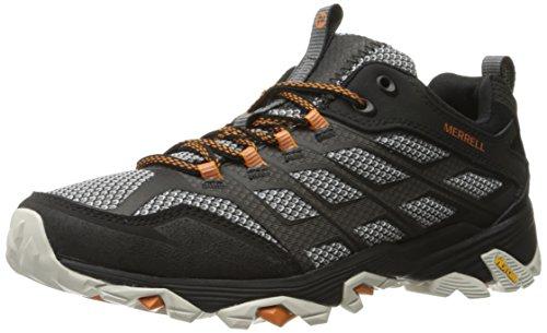 Merrell Moab Fst, Herren Trekking- & Wanderschuhe, Schwarz (Black), 47 EU (12 UK) (Wander-sandalen Sportliche)