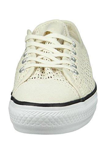 Converse Mandrini Dainty 551545C All Star Highline Beige Airone Bianco Nero Egret White Black