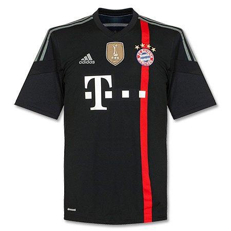 adidas Performance Herren Fußball Replica Champions League Trikot FC Bayern München 2014/2015 S86758 schwarz (200) (Fc Bayern München Trikot 2015)