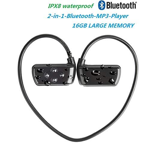 Schwimmen MP3-Player Unterwasser wasserdicht IPX8, Music Player