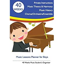[(Music Lessons Planner for Boys: 40 Weeks Music Student's Organizer)] [Author: Tatiana Bandurina] published on (June, 2013)