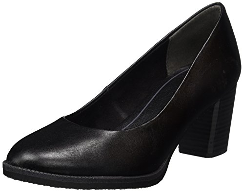 Marco Tozzi Damen 22455 Pumps Schwarz (Black Antic)
