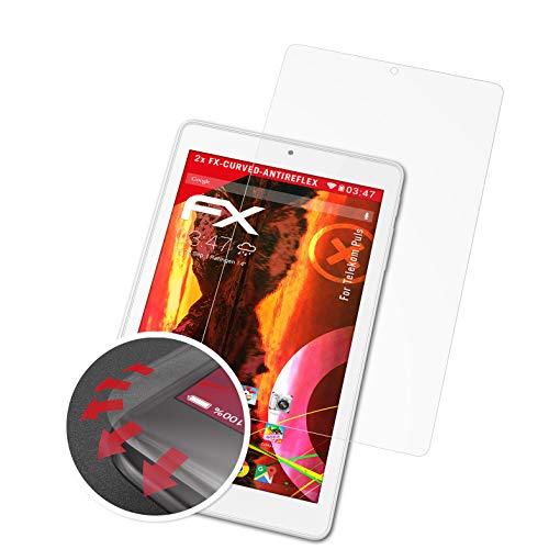 atFolix Schutzfolie passend für Telekom Puls Folie, entspiegelnde & Flexible FX Bildschirmschutzfolie (2X)