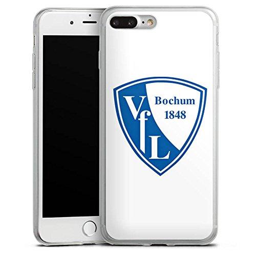 Apple iPhone X Slim Case Silikon Hülle Schutzhülle VfL Bochum Fanartikel Fußball Silikon Slim Case transparent