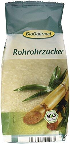 BioGourmet Rohrzucker, 6er Pack (6 x 500 g Beutel) - Bio