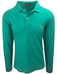 eff1ba586851ca Ralph Lauren Polo Herren Langarm Small Pony Custom Fit S-M-L-XL-XXL Outlet