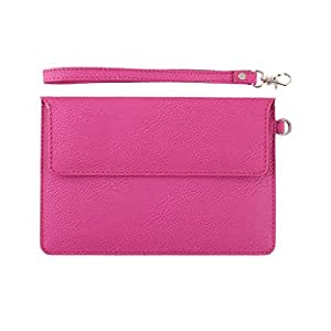 DooDa PU Leather Pouch Case Cover With Magnetic Closure & Video Viewing Stand...