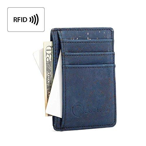 best-rfid-blocking-vegan-wallet-for-men-non-leather-cork-wallet-for-mens-blue
