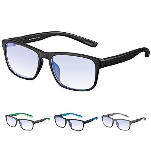 37353f1a11 Rezi Gafas de ordenador Gafas Lectura para Protección contra Luz Azul -  Alta Protección para Pantalla