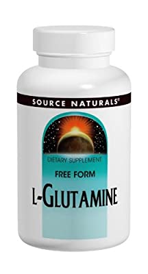 Source Naturals L-Glutamine Powder, 3.53 Oz (100 G) by Source Naturals