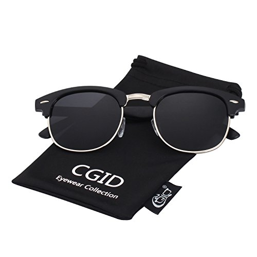 CGID MJ56 Premium Inspired Half Frame Polarized Sunglasses