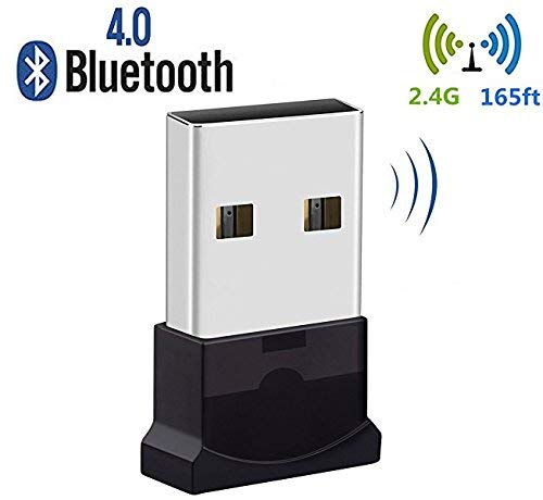 TECHPLUS DIRECT USB-Bluetooth-Dongle, Bluetooth Adapter, Bluetooth 4.0USB-Dongle-Adapter für PC, Plug and Play, für die Maus, mit WLAN-Dongle, Headset, mit 10, Windows 8.1, 87XP Vista