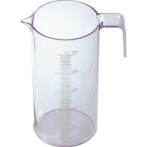 Fripac-Medis Messzylinder und Messbecher mit Messskala von 5-250 ml