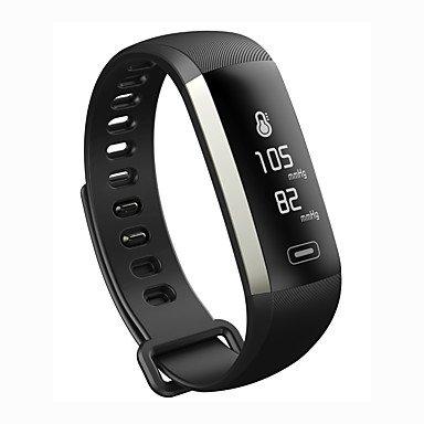 Lemumu M2P Smart Armband Armband Fitness Tracker Blutdruck Sauerstoff Pulsoximeter Passometer Herzfrequenz Tracker App für Ios Android, Violett