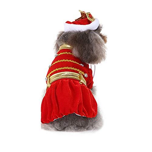TUOTANG Suministros Mascotas Ropa Perro Vestido Verano