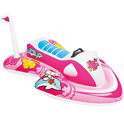 Intex Hello Kitty Jetski Schwimmspielzeug 117 x 77cm Spielzeug Pool Auto Schwimmhilfe