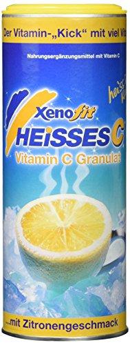 Vitamin C Zitrone (Xenofit Vitamin C-Getränk Heisses C, 270g für ca. 30 Portionen)