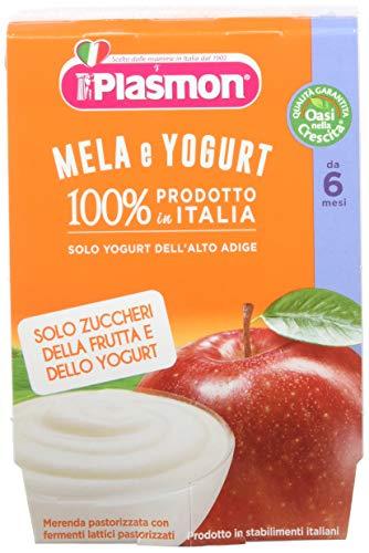 Plasmon Omogeneizzato di Yogurt Mela Sdn 24 Vasetti da 120 gr