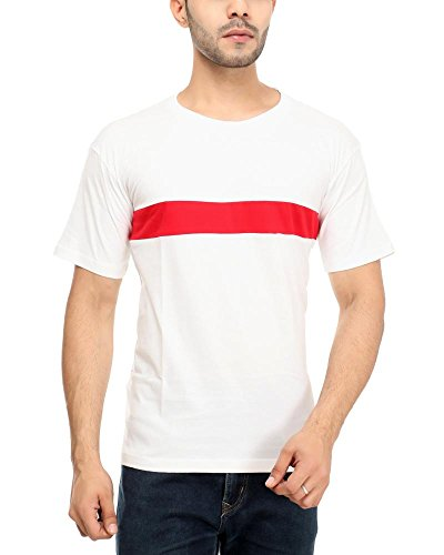 Leemarts Men's Cotton T-Shirt(WB06-L_Multicolor_Large)  available at amazon for Rs.249
