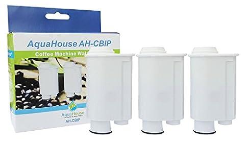 3x AH-CBIP Kompatibel Wasserfilter Patronen für Kaffemaschinen Saeco CA6702/00 Brita Intenza+ Wasserfilter für