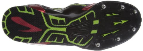 Brooks Pr Md 46.61 Herren Leichtathletikschuhe High Risk Red/Nightlife/Black