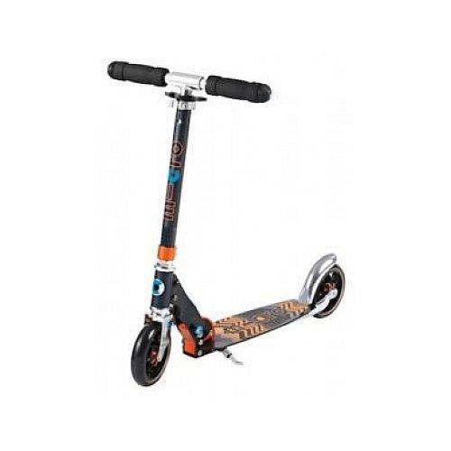 Preisvergleich Produktbild Micro Kinderroller Speed+ Scooter in schwarz-orange