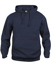 noTrash2003 Streetwear Unisex Hoody Kapuzensweater mit Kopfhörerzugang 280 g Qualität by Clique in 18 Farben und 7 Größen