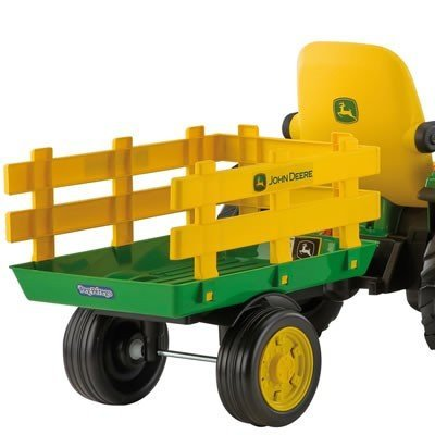 #Anhänger fur John Deere Ground Force oder Loader Peg-perego#